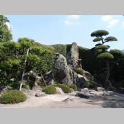 Sata Naotada samurai garden - Chiran in Kyushu